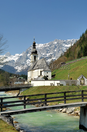 parish church of st sebastian ramsau