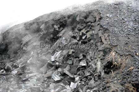 charcoal kiln in holders flaesheim