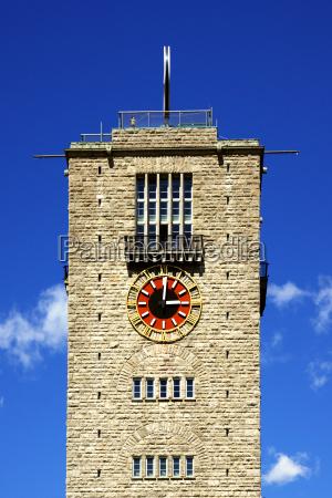 tower stuttgart hauptbahnhof