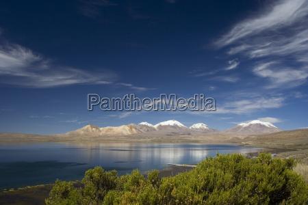 lago chungara lauca national park