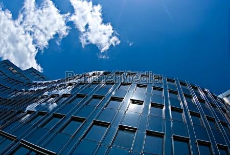 round glass building facade
