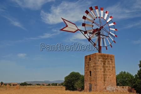 windmill on mallorca