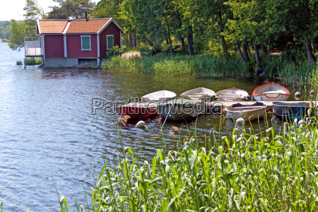 small island in the stockholm archipelago