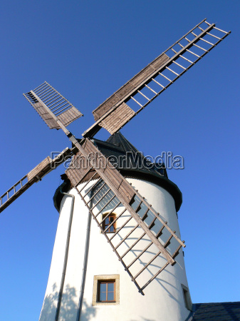 historical wind force windmill wooden