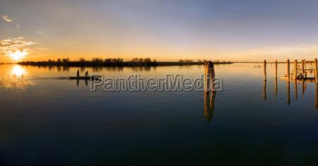 sunset harbor harbours salt water sea