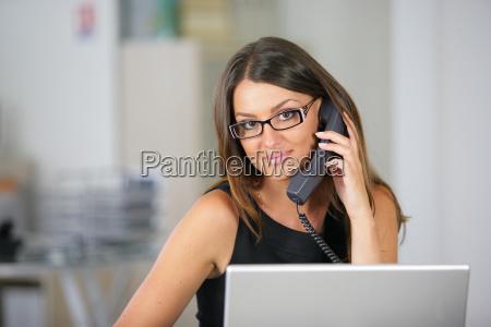 beautiful secretary