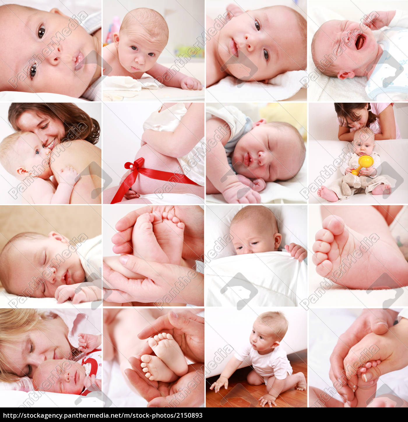 baby, and, pregnancy, collage - 2150893