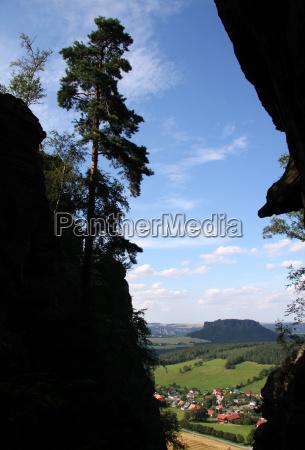 mountains saxony rise climb climbing ascend