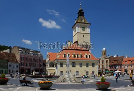 brasov rathausplatz kronstadt