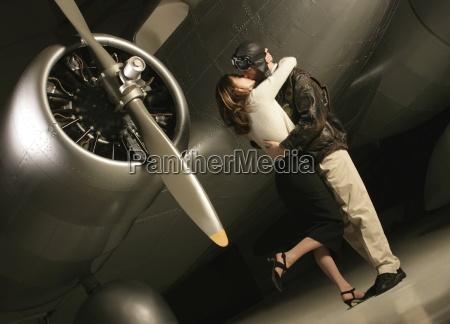 pilot saying goodbye