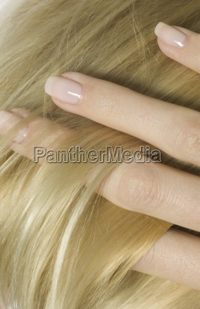 healthy nails and hair