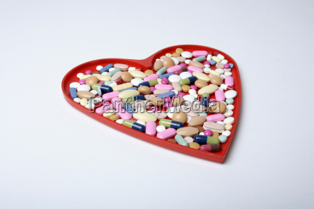 heart full of tablets
