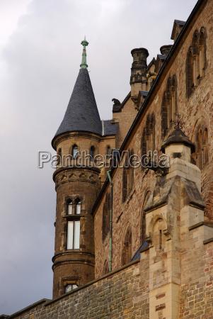 detail wernigerode castle