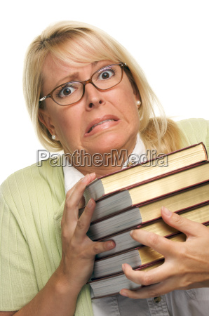 attractive, woman, with, her, books - 2201267