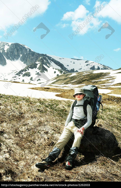 boy, in, hike - 2202033