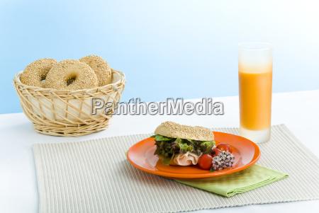 breakfast, bagel - 2202251