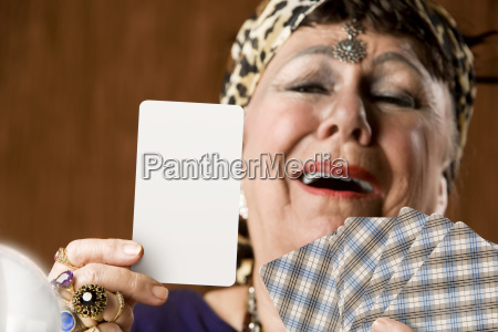 fortune, teller, with, blank, tarot, card - 2202943