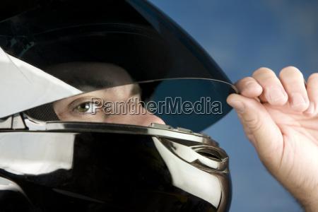 man, in, a, motorcycle, helmet - 2203449