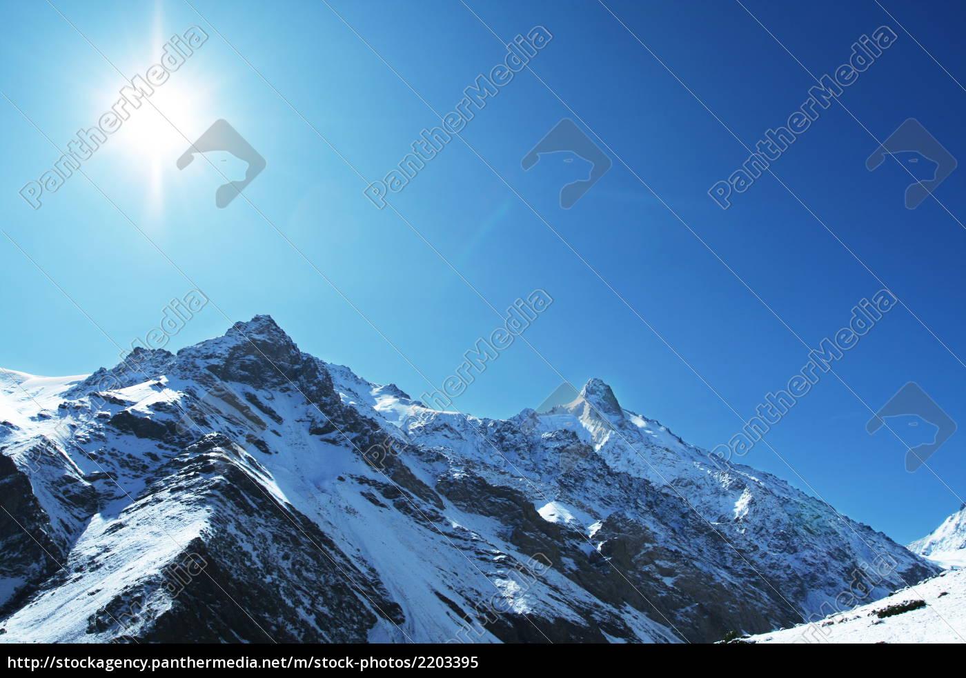 sun, and, snow - 2203395