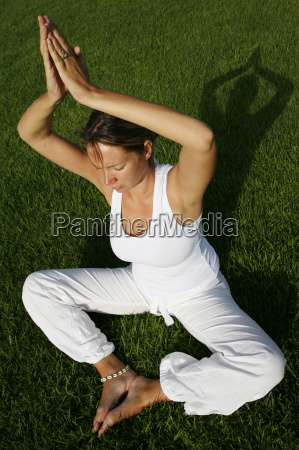 outdoor yoga