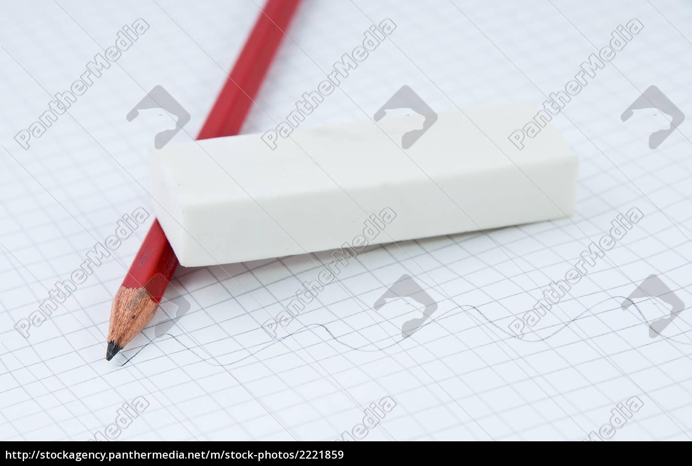 pencil, with, eraser - 2221859