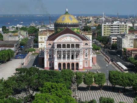 amazonas theater manaus brazil