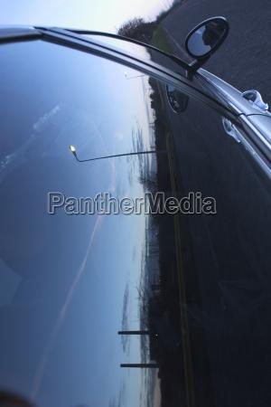 city road urban establishment glass vehicle
