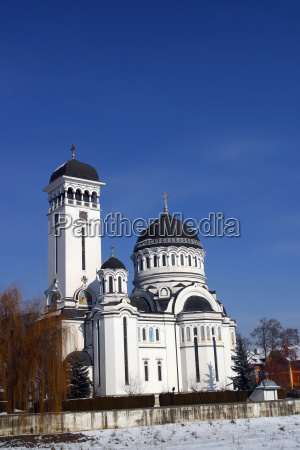the orthodox church singisoara romania