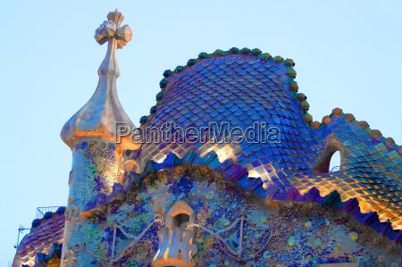 casa, batllo, , antoni, gaudi, , barcelona, , spain. - 2255965