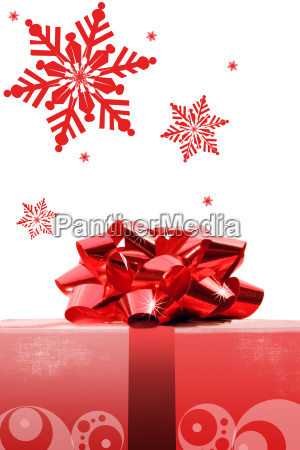 red, christmas, bow - 2261111
