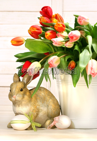 little, rabbit, behind, white, container - 2262037