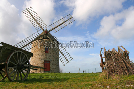 windmill, of, cherrueix - 2264437