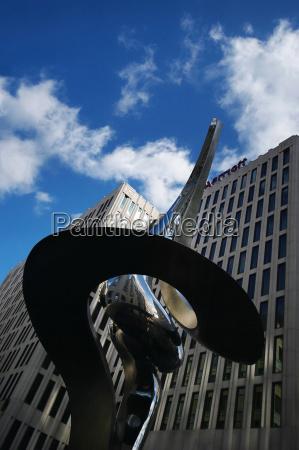 high rise hotel at potsdamer platz