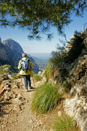 walking in mallorca in barranc