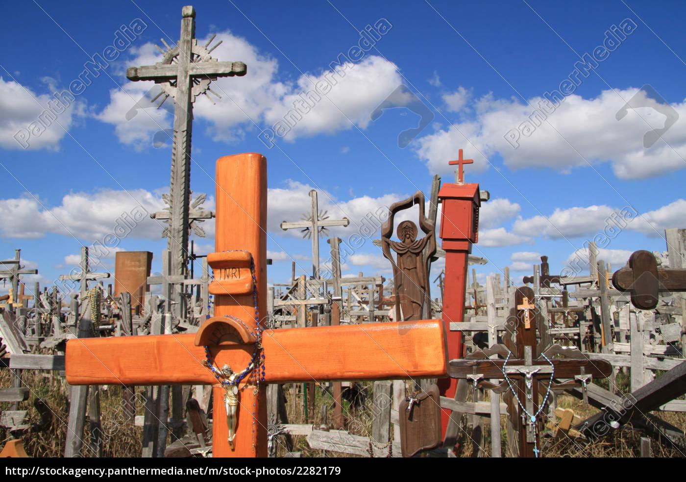 hill, of, crosses, in, siauliai - 2282179