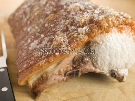 roast loin of british pork with