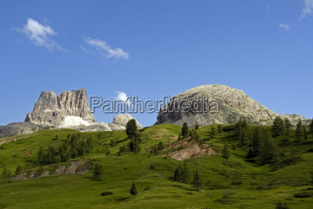 high summer in the dolomites