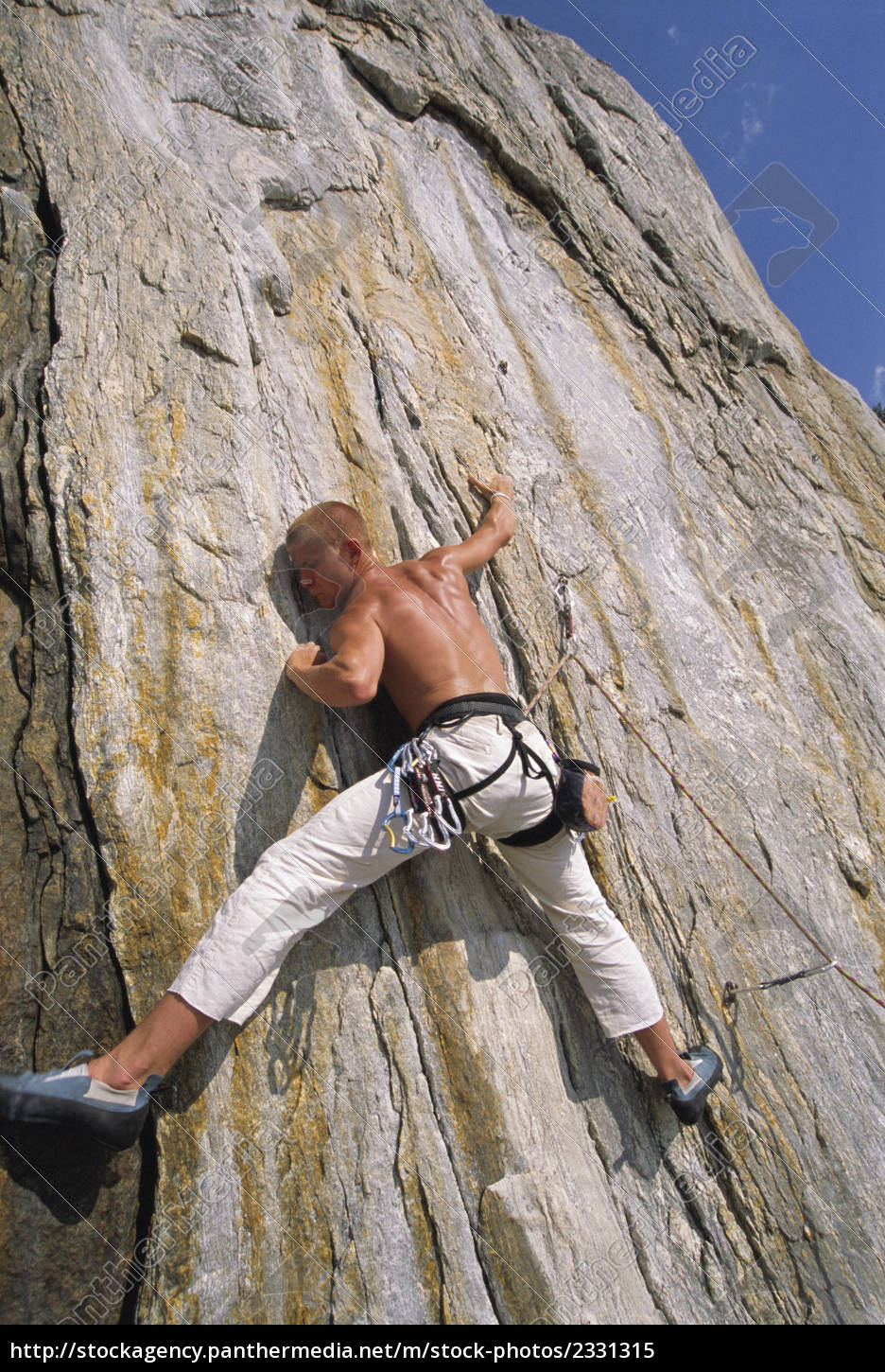 free, climber, scaling, cliff, face - 2331315