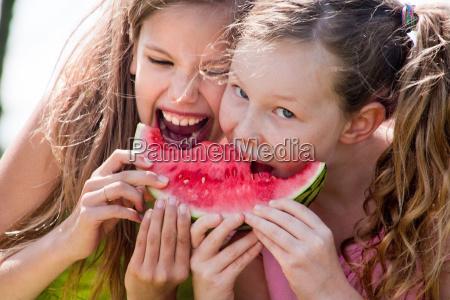 attack the watermelon