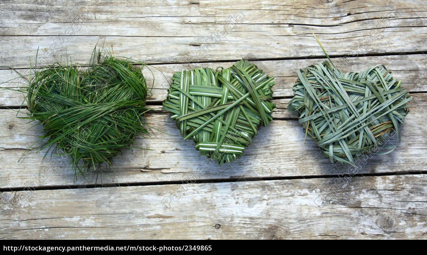 grass, heart - 2349865