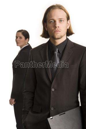 woman portrait business dealings deal business