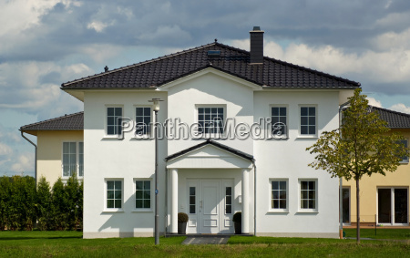 single family house the house with