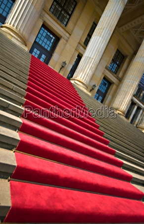 red carpet at the konzerthaus berlin