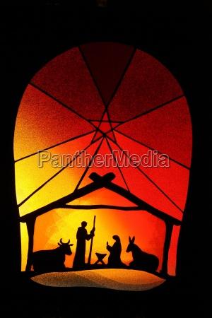 christmas lantern crib