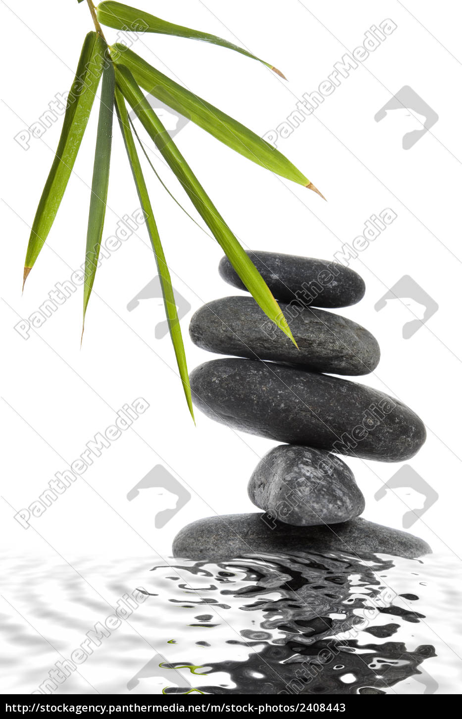 bamboo, and, pebble, still, life - 2408443
