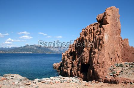 red rocks of arbatax sardinia
