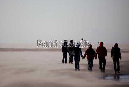 in the sandstorm