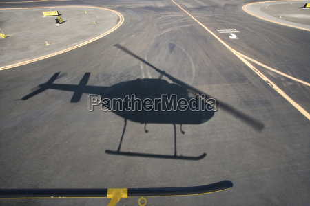 helicopter shadow