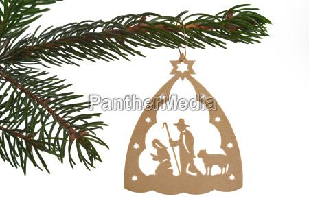 weihnachtsbaumschmuck carving