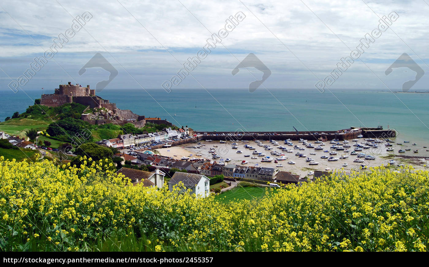 castle, and, harbor, of, gorey - 2455357